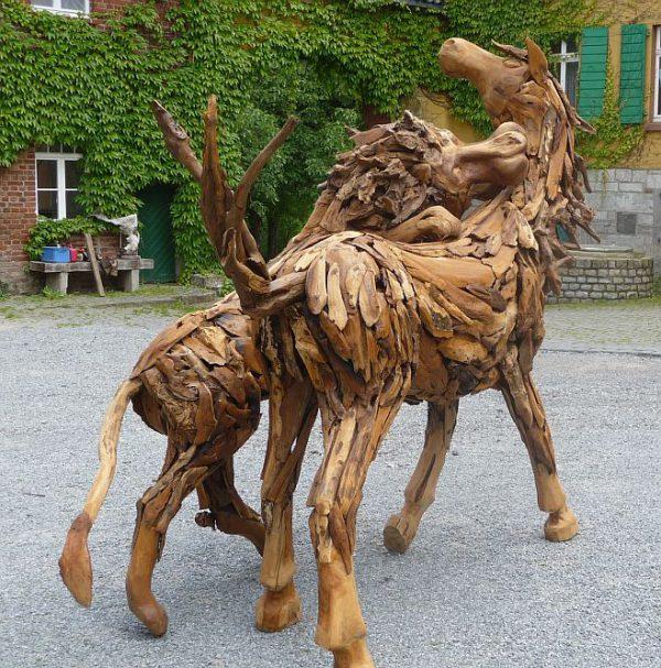 Holzskulptur Treibholz