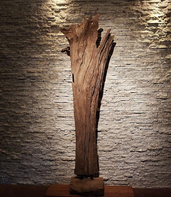 Holzskulptur Holzobjekte Treibholz Holzdeko
