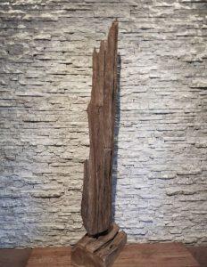Holzskulptur Holzkunst Treibholzdeko Ho.1935