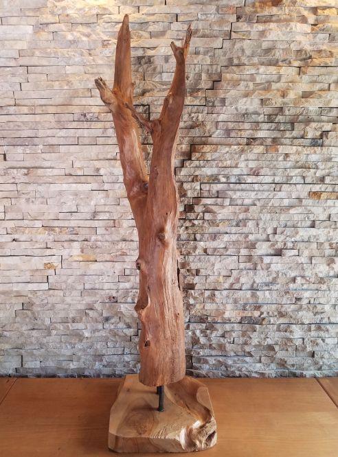 Holzskulpturen Holzobjekt Treibholz Holzdeko Ho.2065