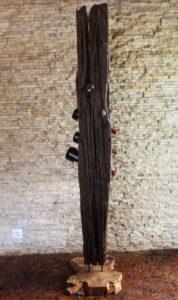 Holzskulptur Holzobjekt Treibholz Holzkunst