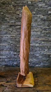 Holzskulptur Holzobjekt Treibholz Schwemmholz Holzdeko Ho.2118