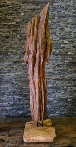 Holzskulptur Holzobjekte Treibholz Teakdeko Ho.2119