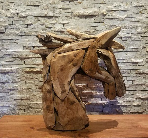 Holzskupturen Treibholz Holzdeko