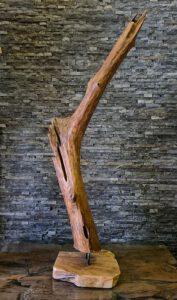 Holzskulptur Holzobjekte HolzkunstTreibholz Schwemmholz Deko