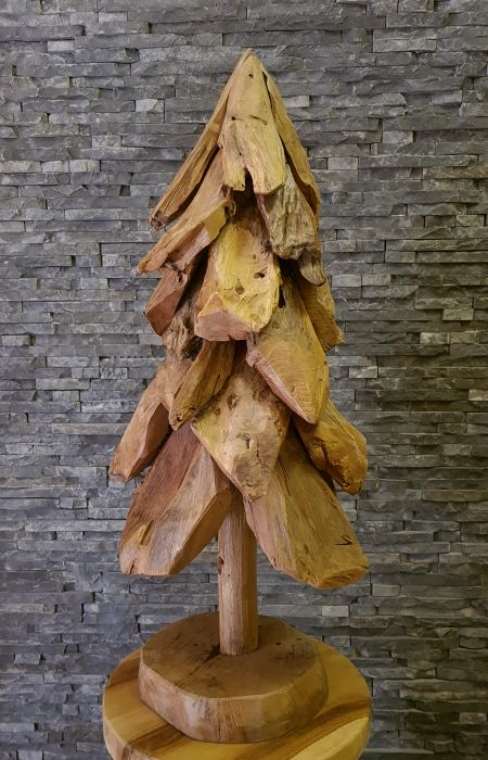 Holzskulptur Holzkunst Treibholzbaum Holzobjekte Skulptur Holz Kunst Teak Tannenbaum Treibholzdeko Holzdeko Teakholzobjekte Wurzel Deko Ho.2097 Indonesien