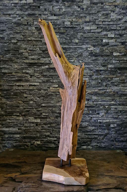 Holzobjekte Schwemmholz WurzeldekoTeakholz Wurzel Treibholz Holzskulptur Holzdeko Holzobjekt Kunst Statue Ho.2102